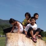 福島の遊ぶ子供たち