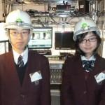 京都教育大付属中学校 職場体験学習2014