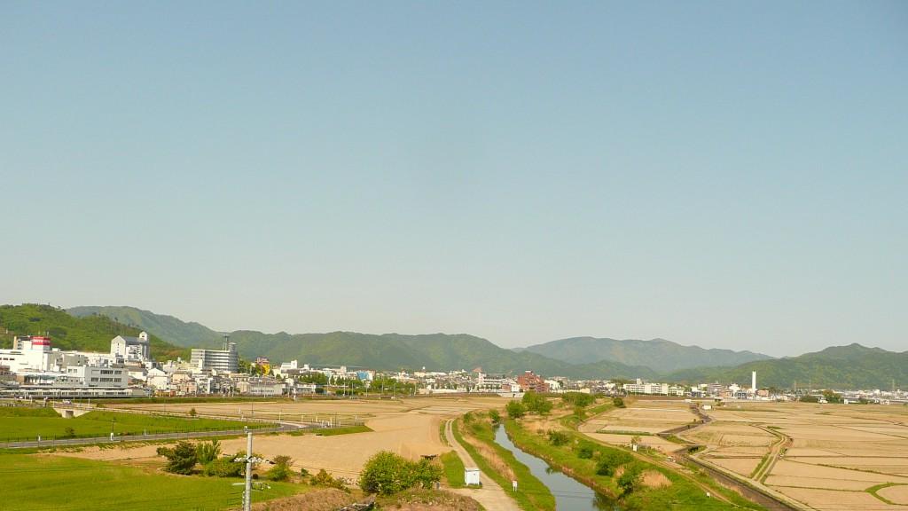 アユモドキが生息する川