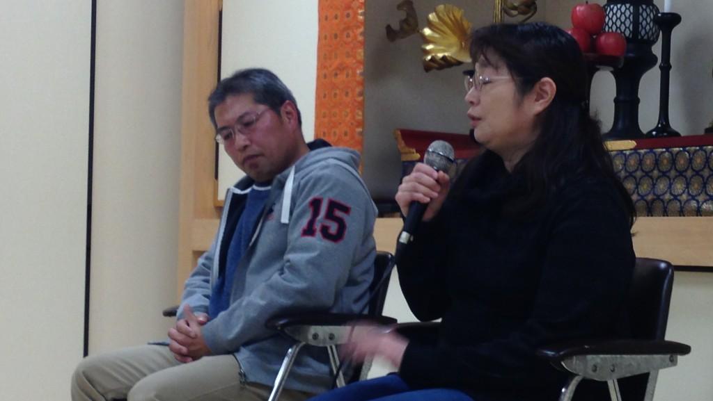 2012年1月24日(誓願寺)私たちはまだ本当の被災地を知らない 石巻市のあの日、その後を聞く夕べ