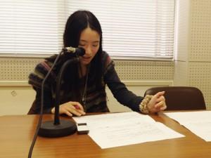 宮川典子さん(ラジオボランティア)