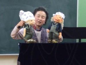 人形劇ワークショップの様子