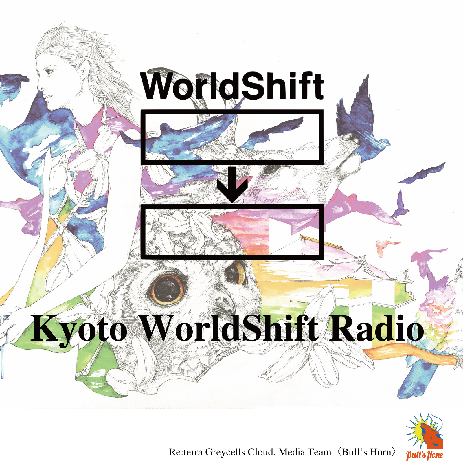 Kyoto WorldShift Radio - FM79.7MHz京都三条ラジオカフェ:放送