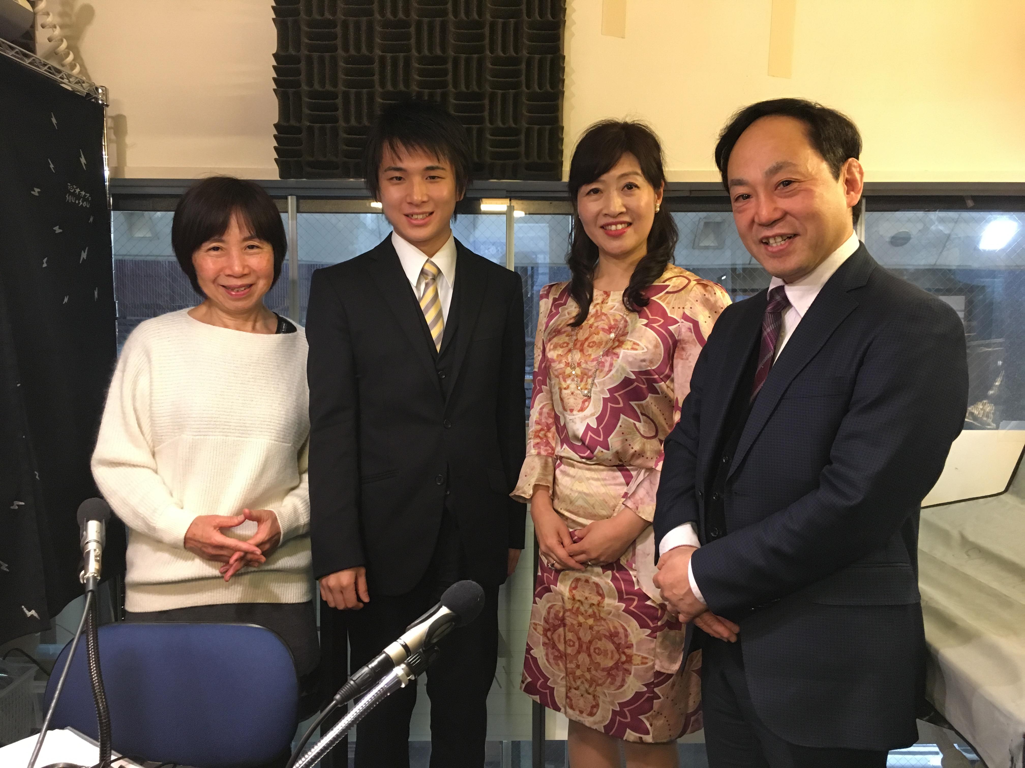 3/13(月)第65回ゲストはテノール歌手,指揮者,フルート奏者の那須琢乙 ...