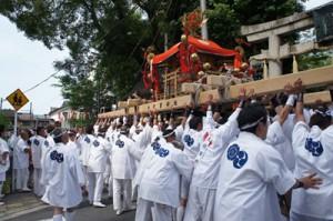 大将軍神社 神幸祭の様子