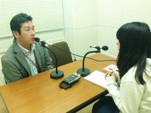 取材時の様子左:中村武生先生(京都女子大学講師)、 右:井場 菜央子さん