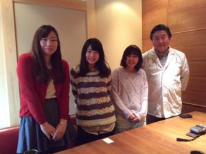左から:福永 紗弓さん、井場 菜央子さん、嘉野 加奈子さん、吉田忠司さん