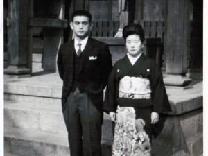 伊藤さんご夫妻(昭和30年ごろ)