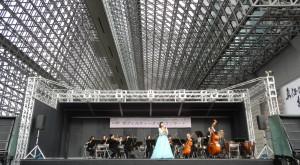【開局10周年記念】「京フィル ティータイムコンサート」京都駅(室町小路広場)